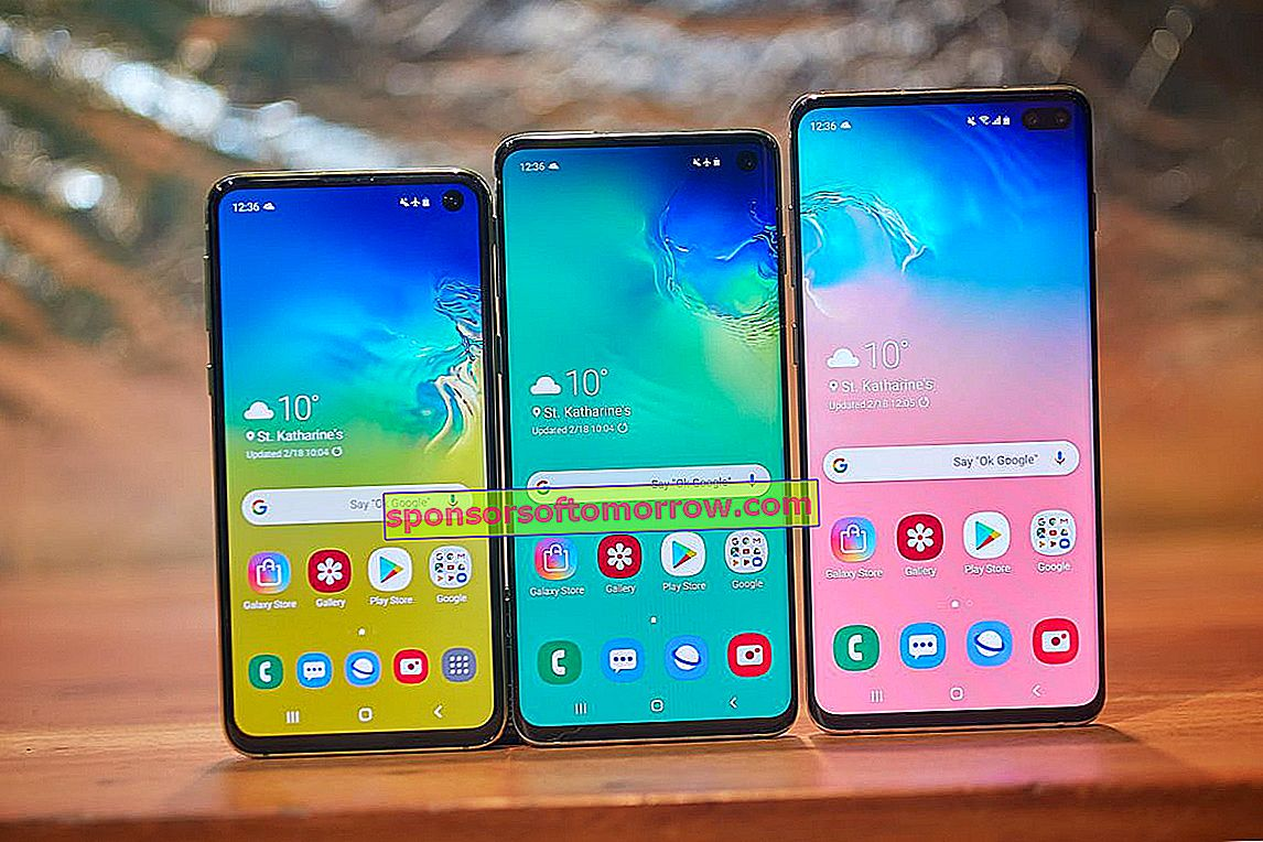 The Samsung Galaxy S10 screen explained in detail