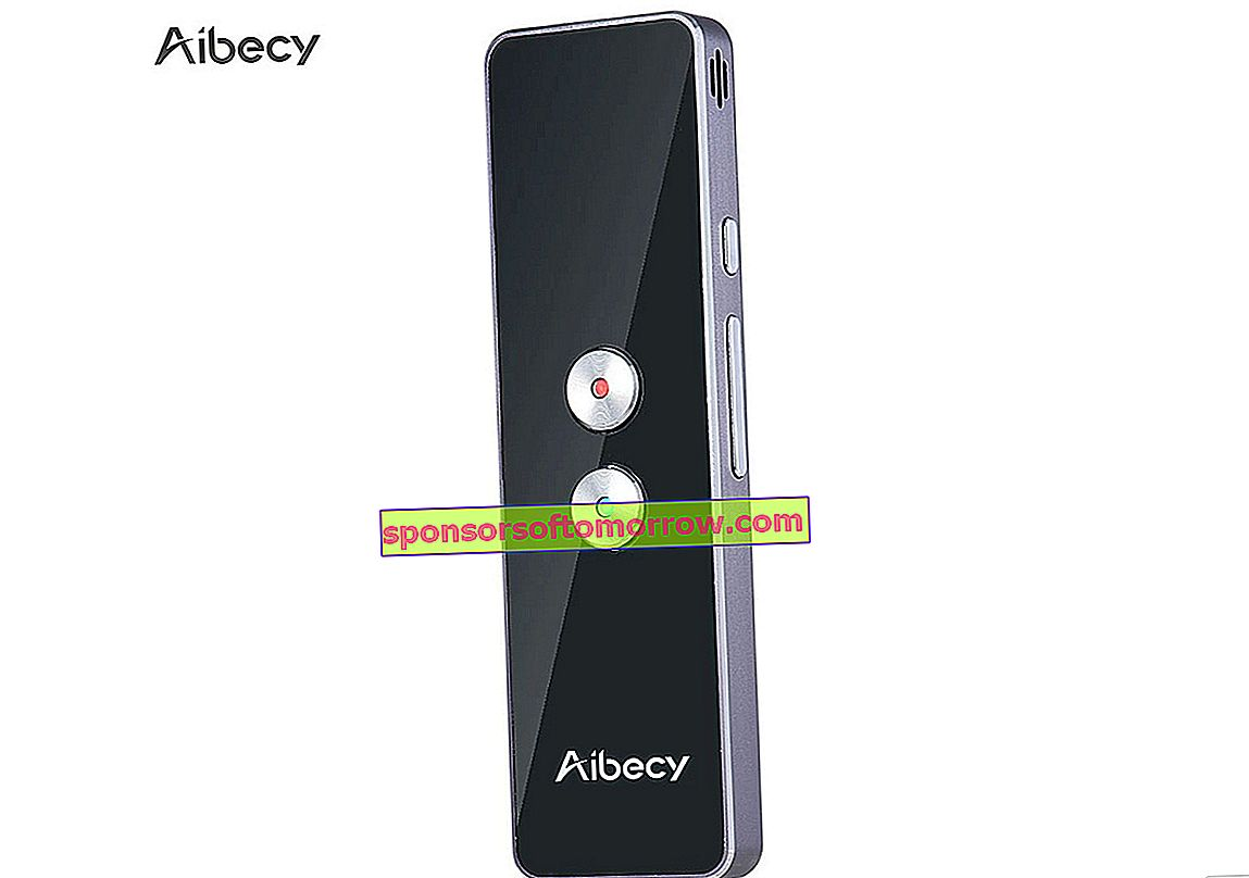 Aibecy Translator, a portable translator for travel, shopping and work