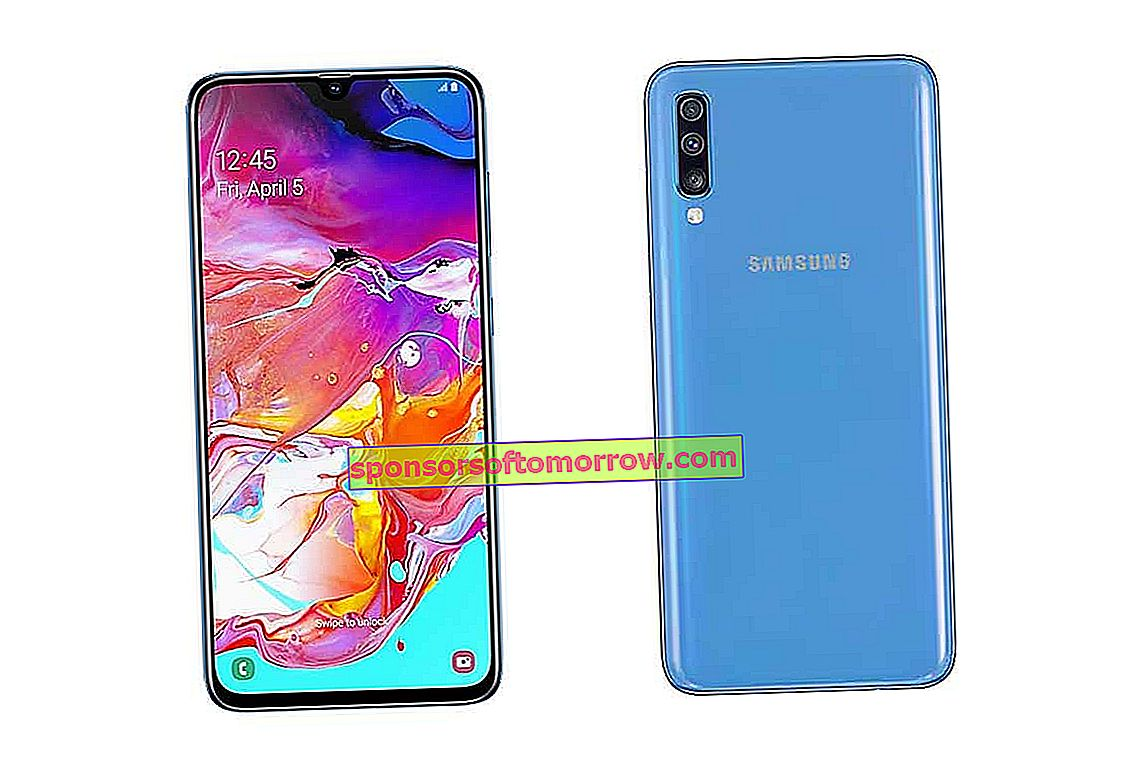 Discount for the face The Samsung Galaxy A70 lowered 50 euros