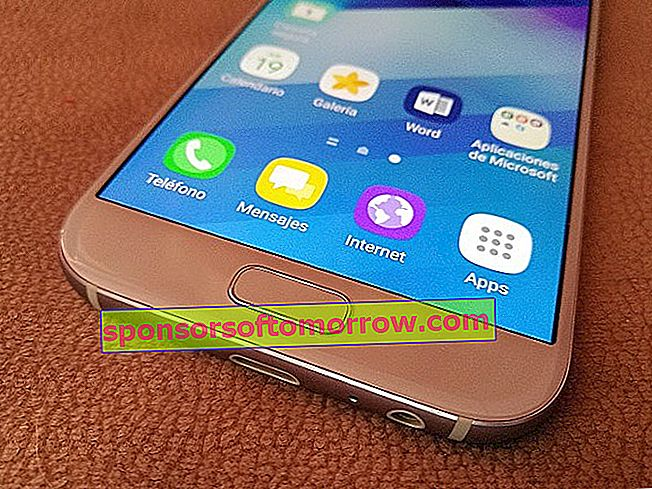 Functions of the fingerprint reader of the Samsung Galaxy A5 2017
