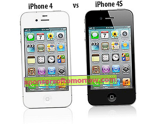 Comparison iPhone 4 vs iPhone 4S 1