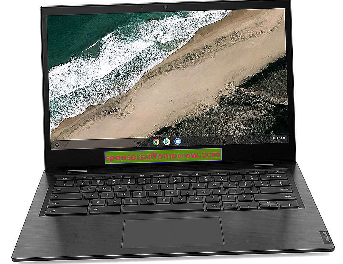 Lenovo Chromebook S345 head-on