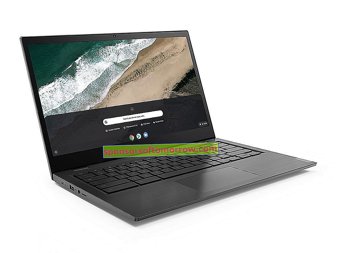 Lenovo Chromebook S345, a laptop with a Full HD screen and a good price