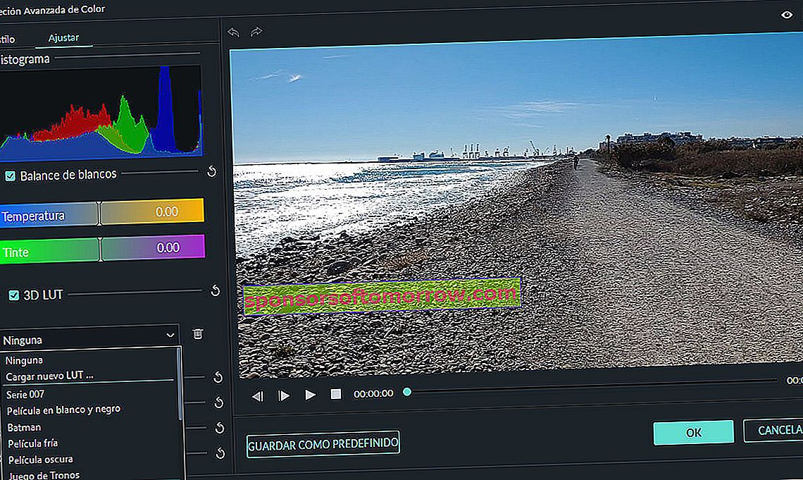 Wondershare Filmora9 color correction video editor analysis