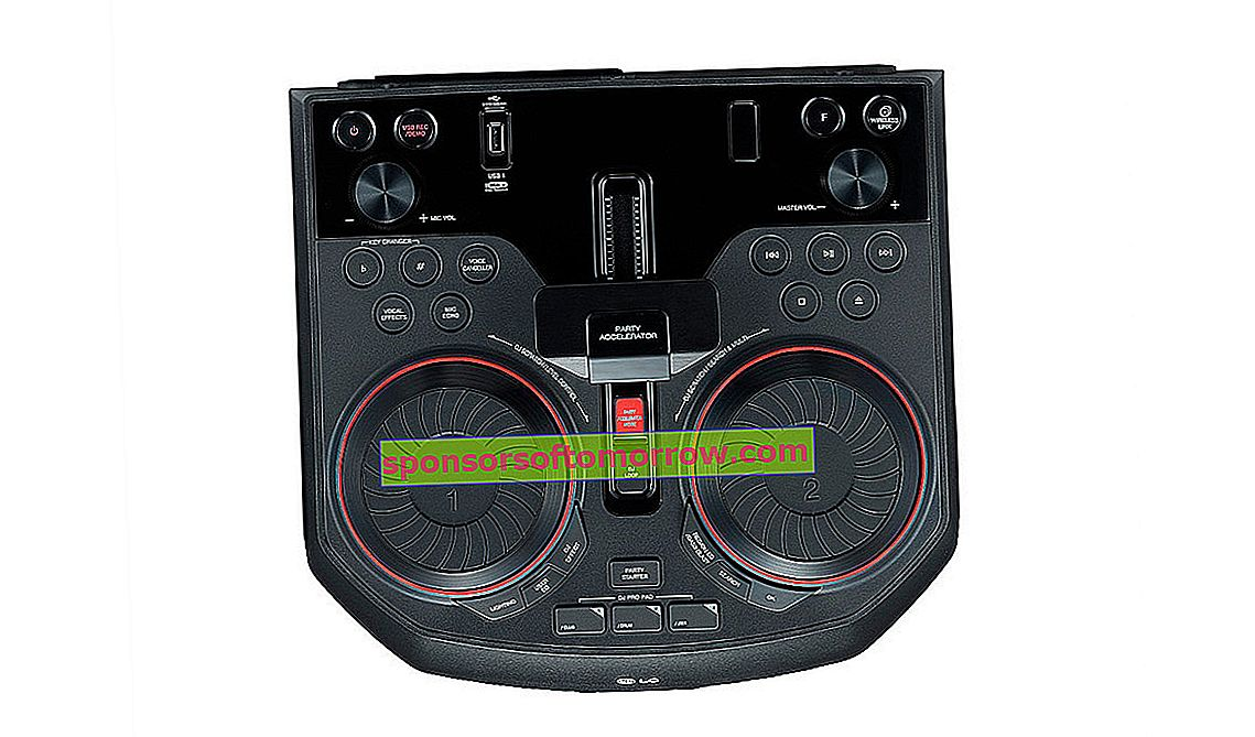 in-depth LG XBOOM The Beast OK55 DJ
