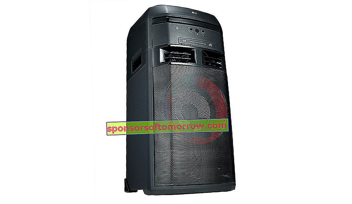 thoroughly LG XBOOM The Beast OK55 power