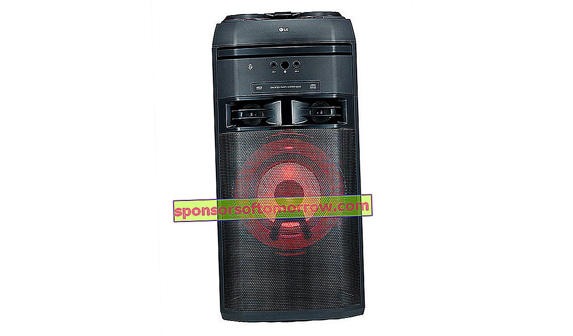LG XBOOM The Beast OK55, 500W, DJ and Karaoke function for your parties