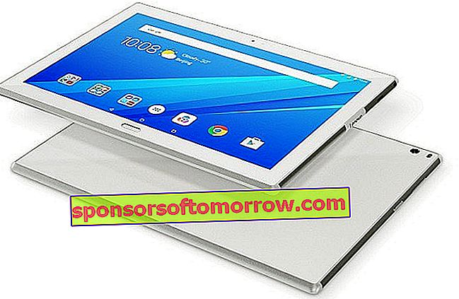 lenovo tab 4 plus white