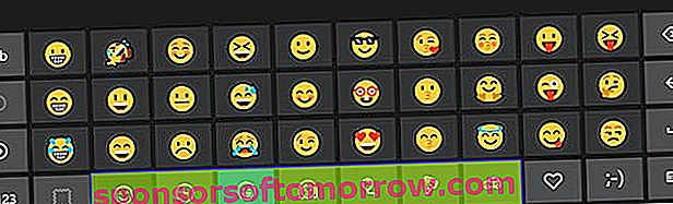 keyboard emojis Windows 10