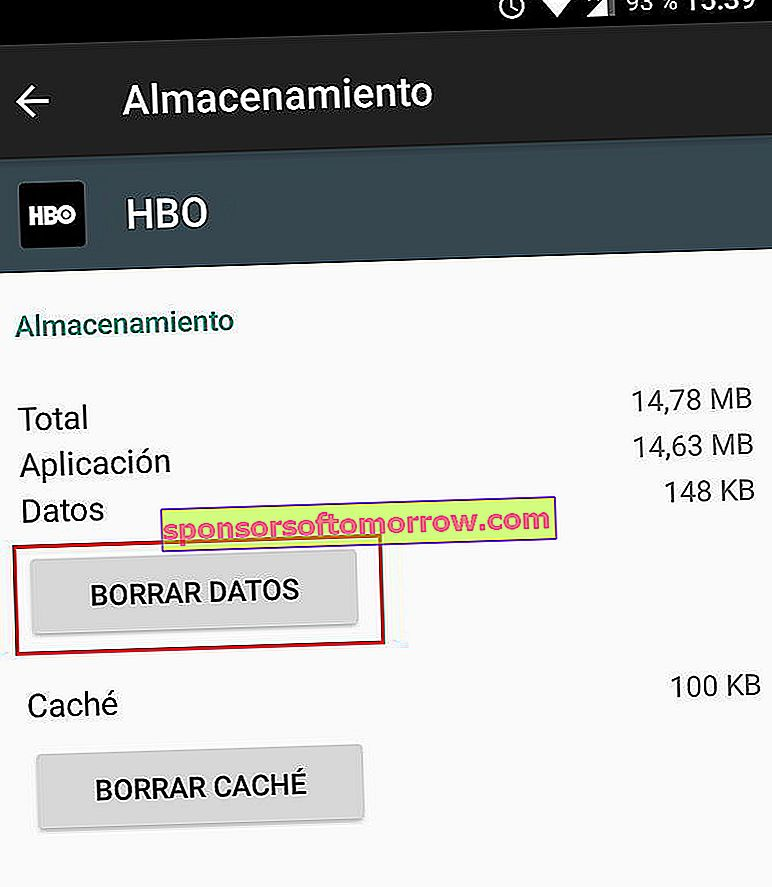 clear hbo data