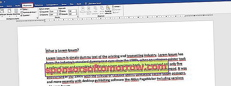 rotate only one page in Word 2