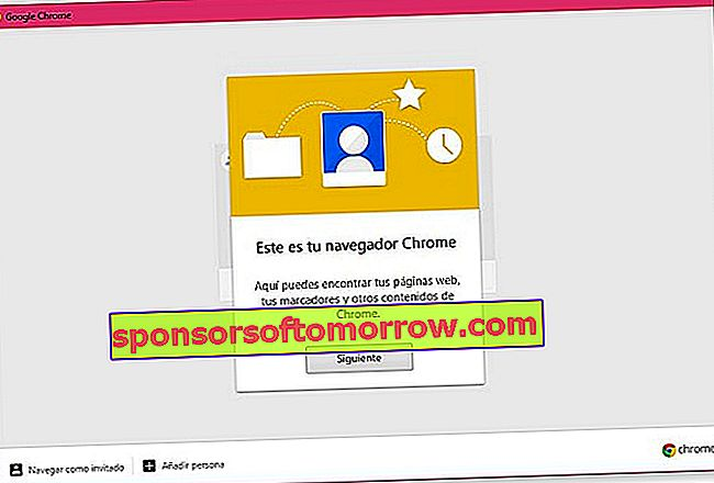 Google Chrome add people