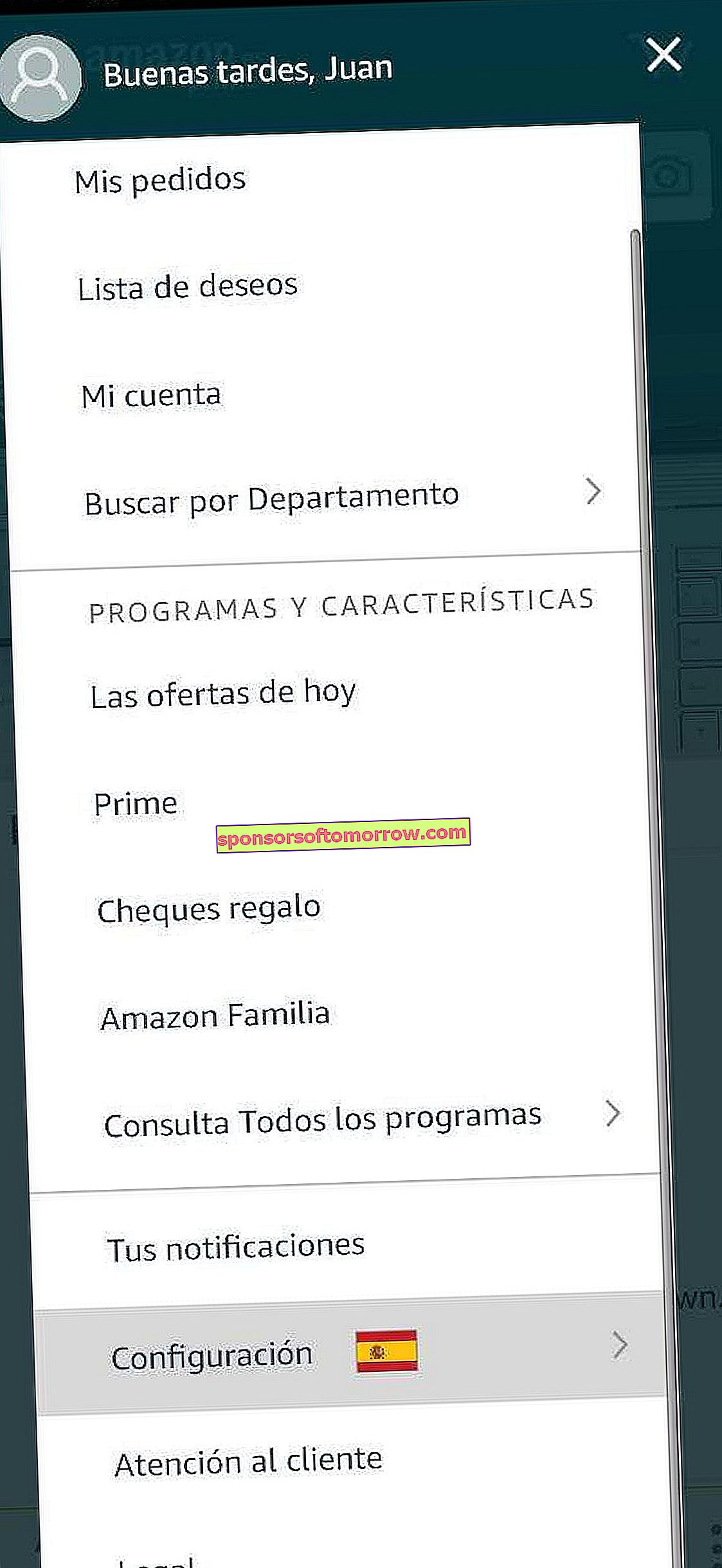 buy amazon USA from Spain 2