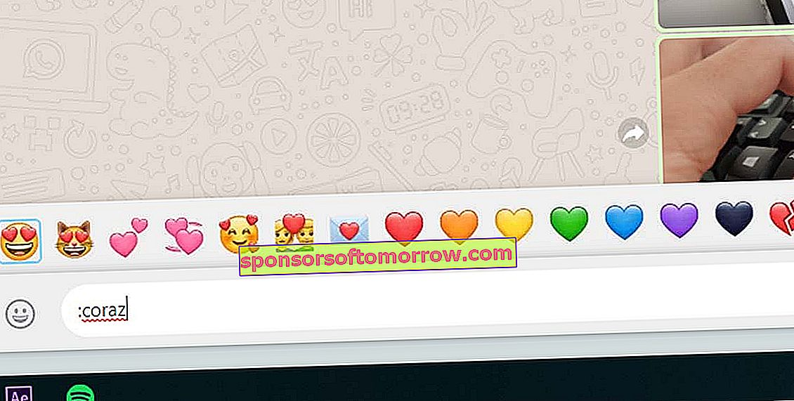 quick access to Emoji emoticons