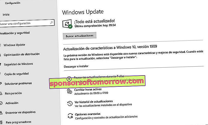 Update your Windows 10 to the latest version