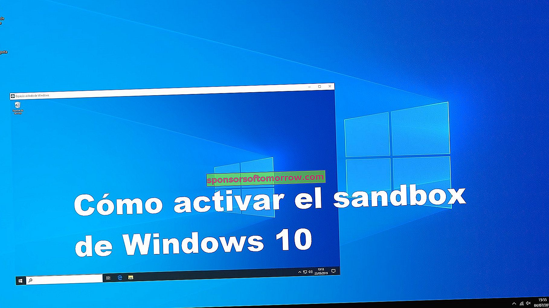 How to activate the Windows 10 sandbox to test applications safely