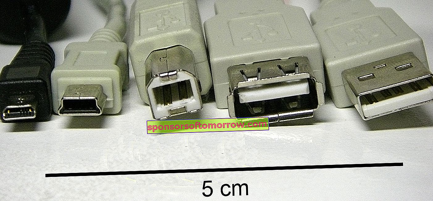 USB cable types