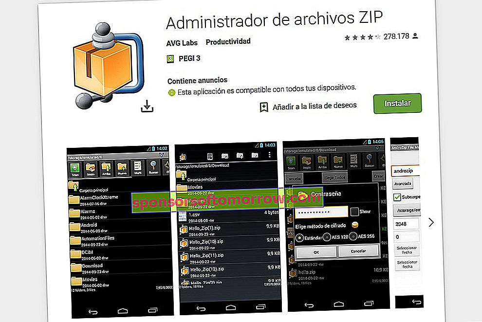 AndroZip