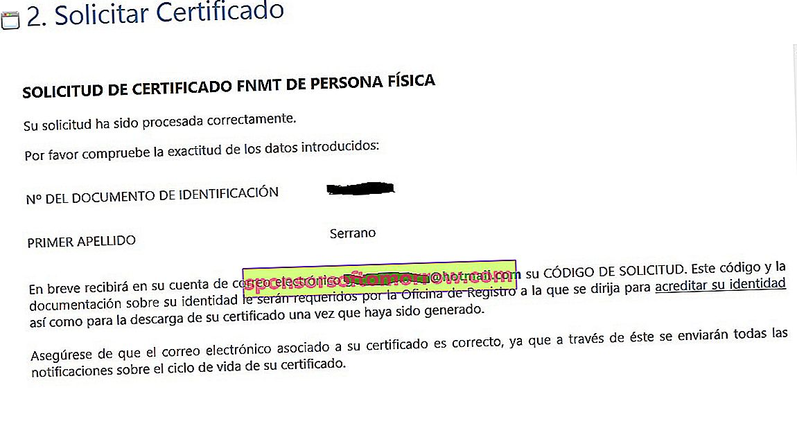 How to obtain your Digital Certificate of Natural Person from the FNMT 3