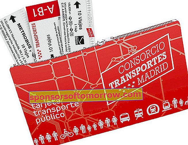 carte de transport multi madrid