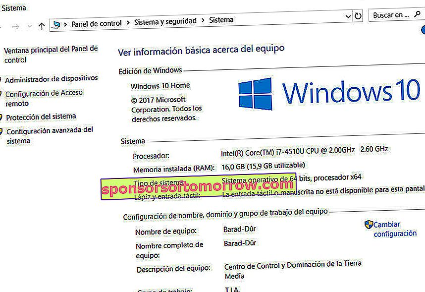 How to see computer characteristics Windows 7 or Windows 10 05