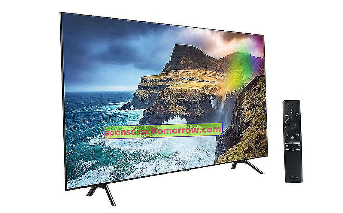 Samsung QLED Q70R, Direct Full Array system comes to Samsung 7 series