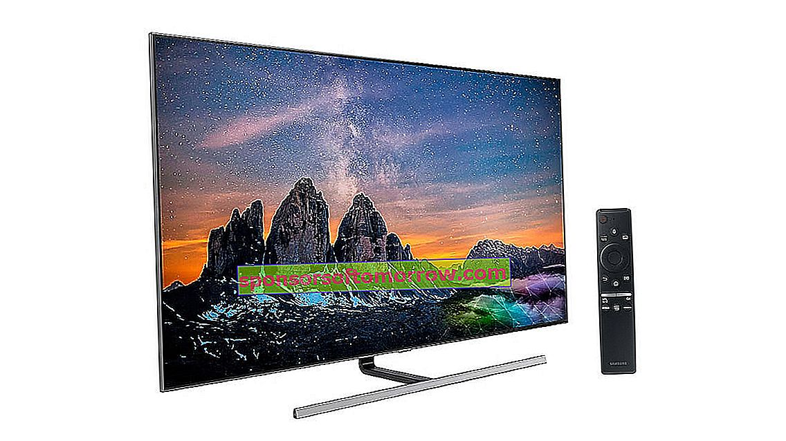 Samsung QLED Q80R, Direct Full Array and HDR 1500 with a very attractive price