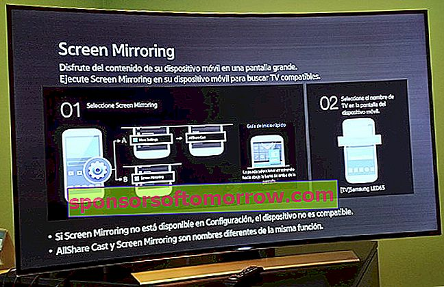 Samsung Screen Mirroring