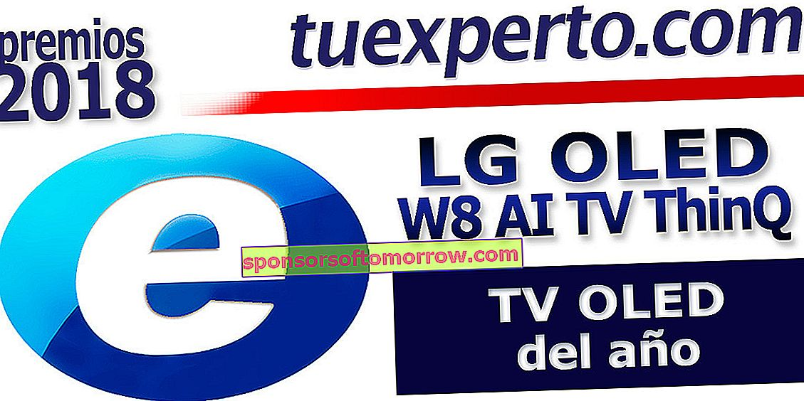 LG OLED W8 AI TV ThinQ seal