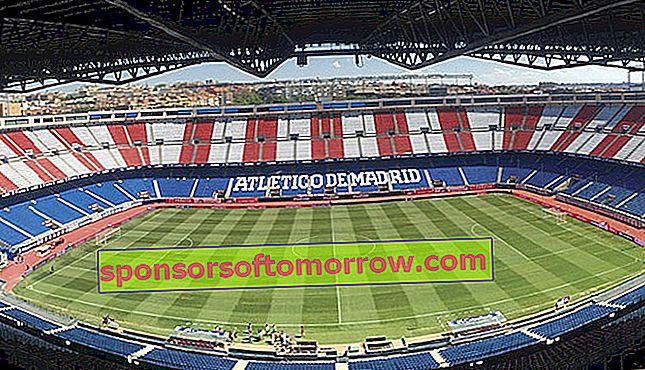 The new Atlético de Madrid stadium will have LG screens