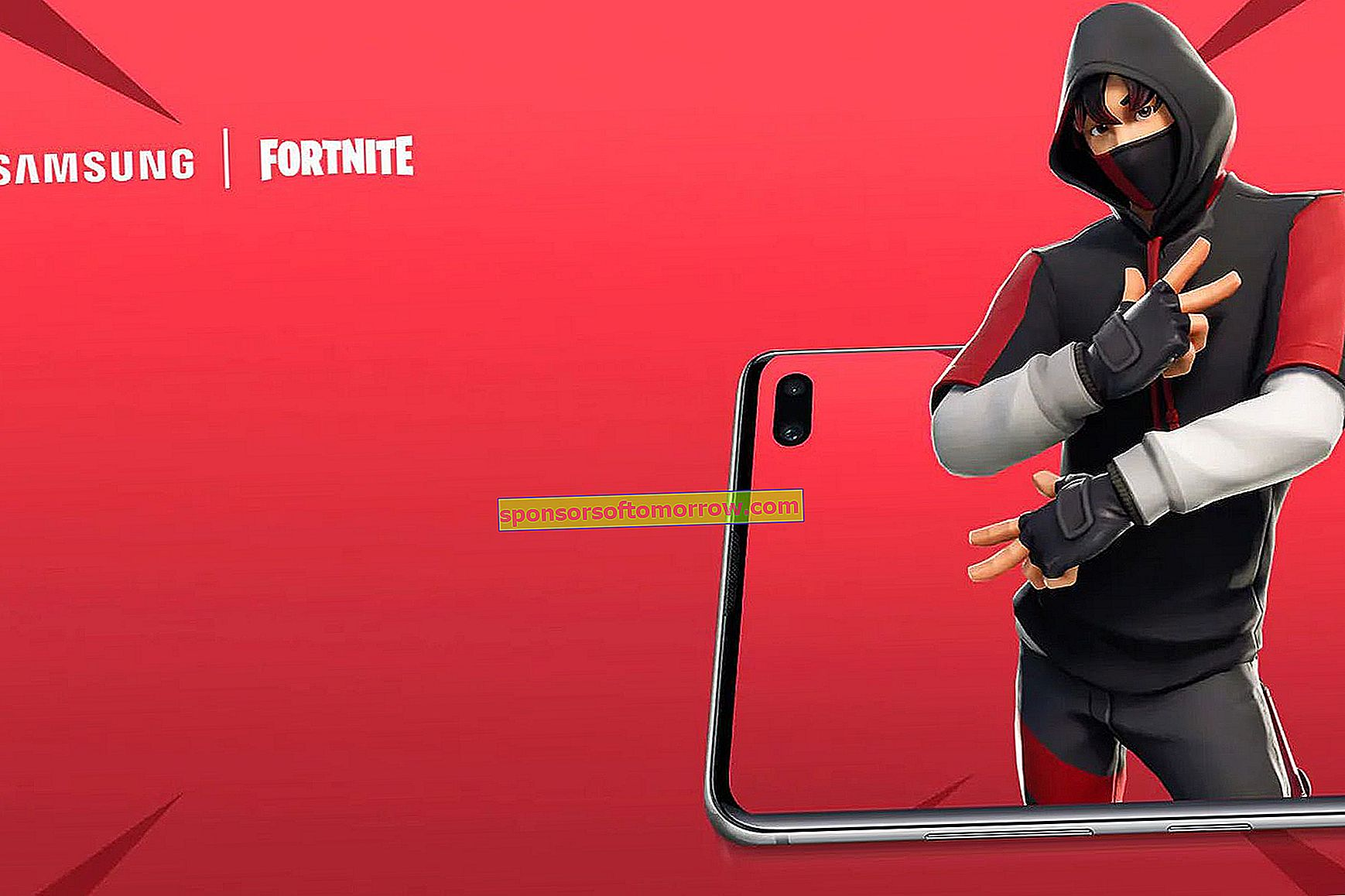 How to get the Fortnite skin of the Samsung Galaxy S10 +