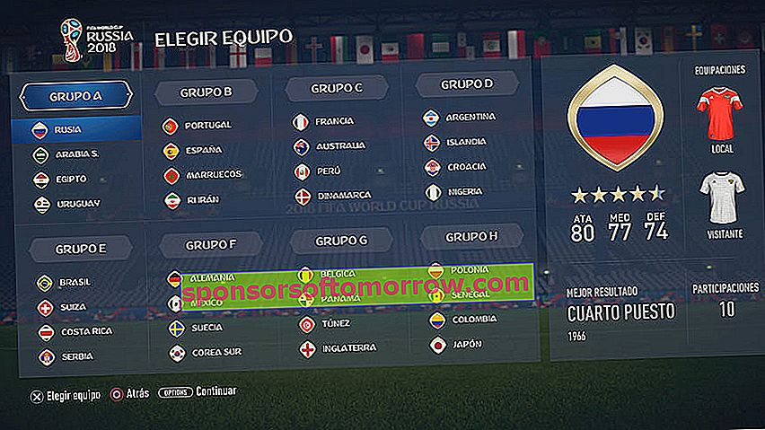How to download and play the World Cup in Russia in FIFA 18 groups
