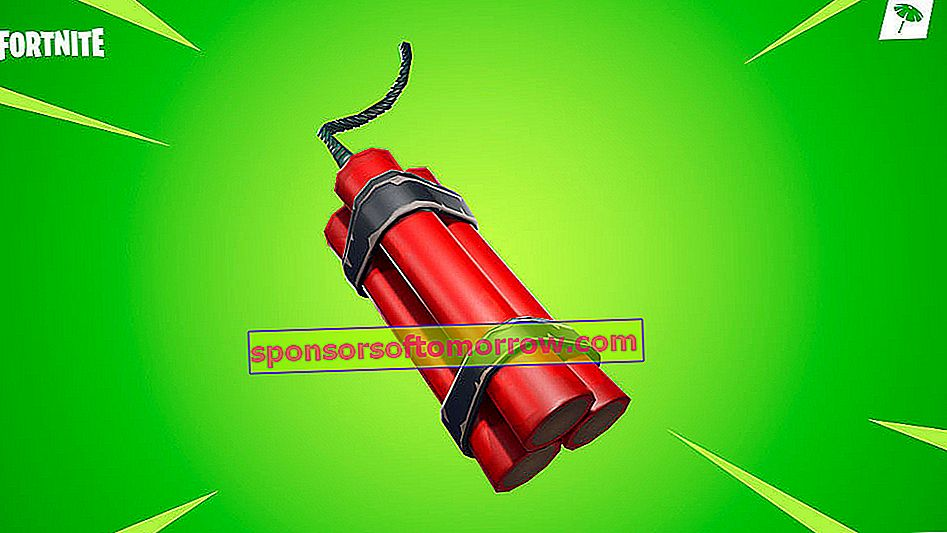 Dynamite in Fortnite