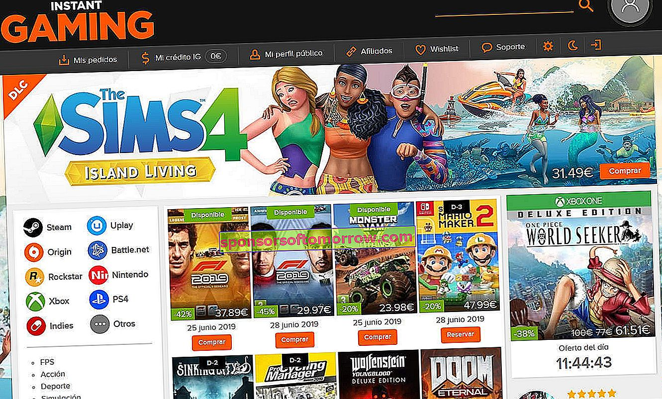 It is safe to buy games on sites like G2A and Instant Gaming 1